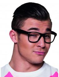 4 schwarze Brillen für Erwachsene