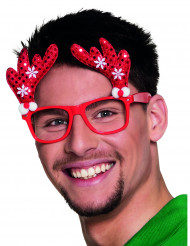 Rentierbrille für Erwachsene