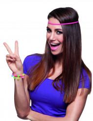 Buntes Peace Hippie-Armband für Erwachsene