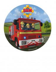 Tortenaufleger Feuerwehrmann Sam™ 20 cm