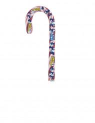 Zuckerstange Paw Patrol in rosa-weiß 60g