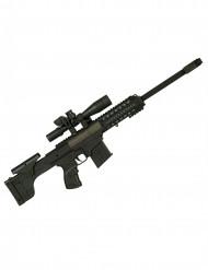 Maschinengewehr für Kinder mit Sound Spielzeug schwarz