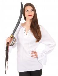 Weiße Bluse für Damen