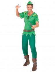Grünes Waldmann-Kostüm für Herren