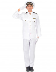 Marineoffizier Kostüm für Herren