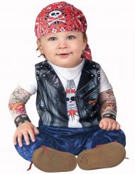 Biker-Kostüm für Babys