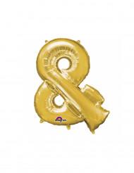 Ballon aus Aluminium Symbol &