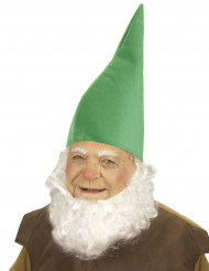 Grüne Zwergenmütze für Erwachsene