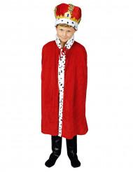 König Umhang für Kinder 80 cm