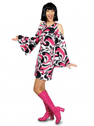 70er Hippie-Kostüm für Damen