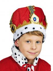 Rote Königskrone für Kinder