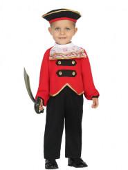 Kostüm Piratenbefehlshaber für Babys