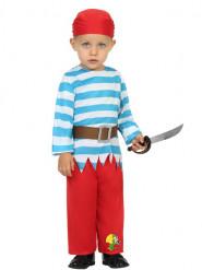 Piratenkostüm für Kleinkinder bunt