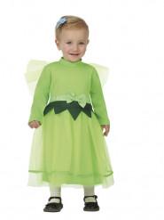 Kleine Fee-Kinderkostüm für Mädchen grün