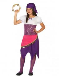 Zigeunerin Kostüm für Mädchen