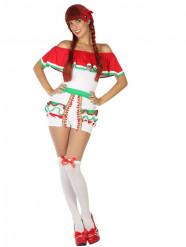 Kostüm Mexikanerin für Damen