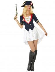 Marinesoldat Kostüm für Damen