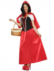 Süßes Rotkäppchen Damen-Kostüm