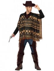 Poncho Cowboykostüm für Herren