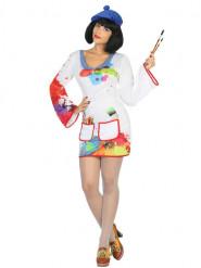 Malerin Kostüm für Damen