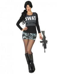 Kostüm SWAT Soldat für Damen