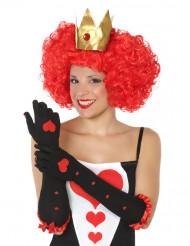 Lange Herzkönigin Handschuhe