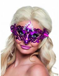 Venezianische Augenmaske für Damen lila