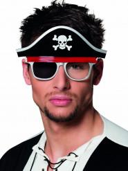 Piraten-Brille für Erwachsene