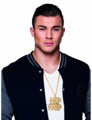 Hip Hop Halskette für Erwachsene gold