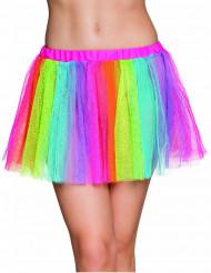 Regenbogen Tüllrock für Damen