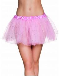 Tutu mit Sternchen für Damen rosa