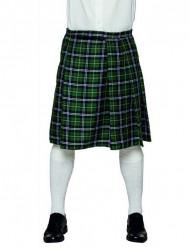 Karierter Schottenrock Kilt für Herren grün