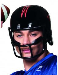 Schwarzer Football Helm