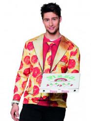 Langarmshirt Mr Pizza für Herren
