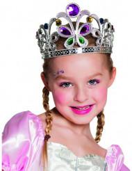 Königin-Diadem mit Schmetterlingen für Kinder