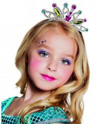 Prinzessin Diadem Krone für Kinder bunt