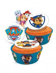 16 Cupcakesaufleger Paw Patrol™ 3,5 cm