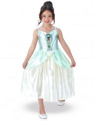 Prinzessin Tiana™-Lizenzkostüm für Kinder blau-weiss
