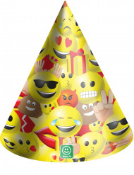 6 Partyhüte Imoji™ 16cm