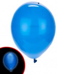 5 Luftballons LED Illooms ® blau