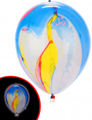 5 LED-Ballons Farbtupfer Illooms ® bunt