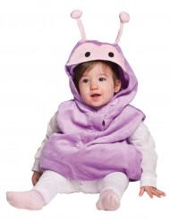 Lila Schmetterlingskostüm für Babys