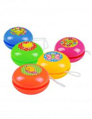 5 Mini Jo-jo farbig