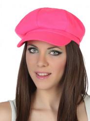 Neonrosa Hut für Damen