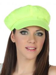 Neongelber Hut für Erwachsene!