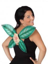Grüne Feenflügel mit Pailletten für Damen