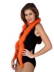Federboa Karneval-Accessoire 185 cm orange