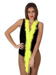 Federboa Karneval-Accessoire 185 cm gelb