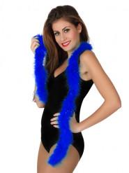 Federboa Karneval-Accessoire 185 cm blau
