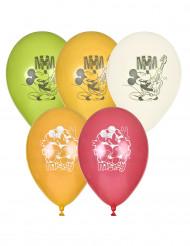 5 Mickey Balloons ™ 23 cm